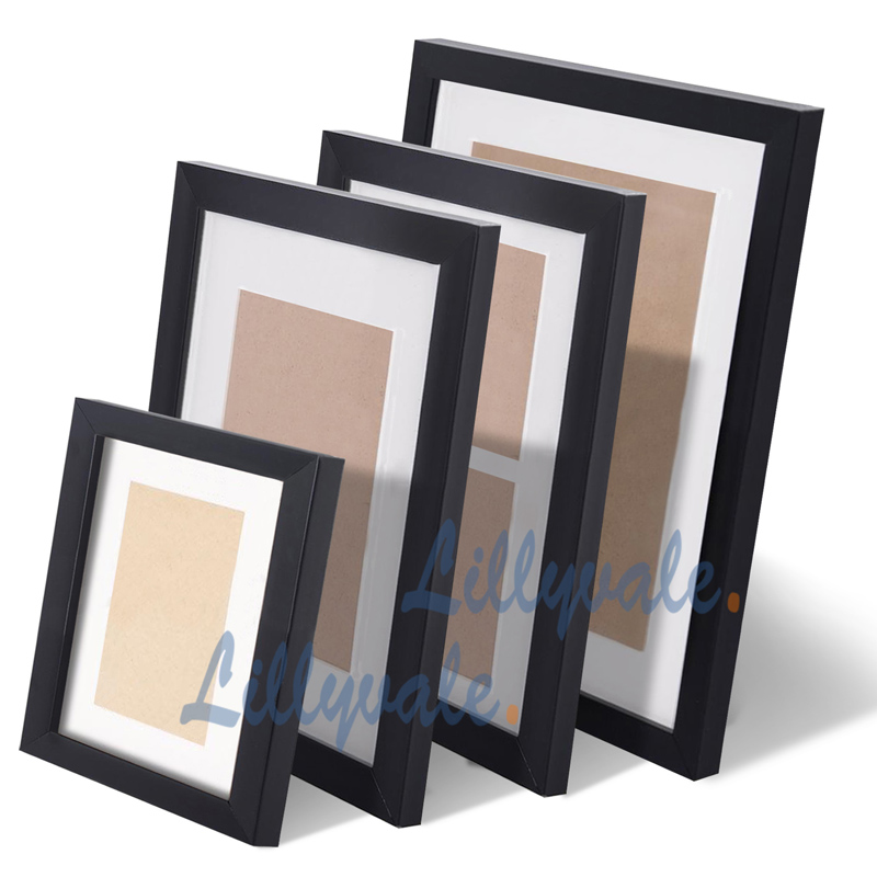 large multi picture photo frames wall set 20pcs 215cm x 77cm home art deco gif ebay. Black Bedroom Furniture Sets. Home Design Ideas